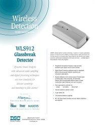 WLS912 Glass Break Detector - Cerber.pro