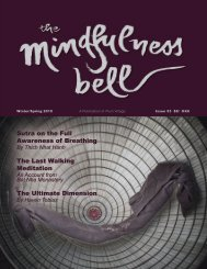View full issue in PDF - The Mindfulness Bell