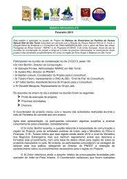 Boletim Informativo nº2 Fevereiro 2013 Participaram na ... - Alisei