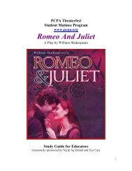 Romeo And Juliet - PCPA Theaterfest