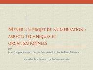 aspects techniques et organisationnels - Agence Régionale du Livre ...