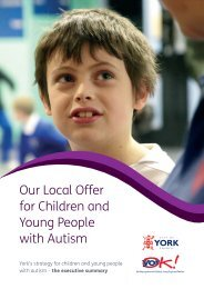 Our Local Offer for Children and Young People with Autism - YorOK