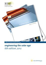 engineering the solar age 6th edition, 2012 - Renewables Insight