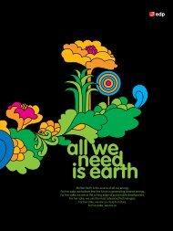 we need is earth - EDP