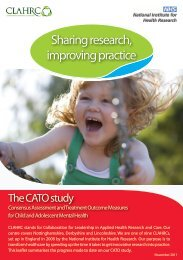 CATO study - Collaboration for Leadership in Applied Health ...