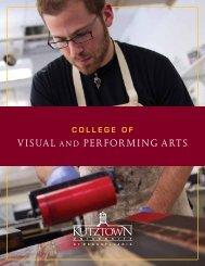 Visual and Performing arts - Kutztown University