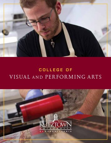 Visual and Performing arts - Kutztown University