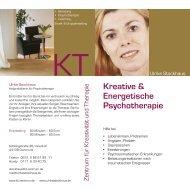 Kreative & Energetische Psychotherapie - KT - Zentrum für ...