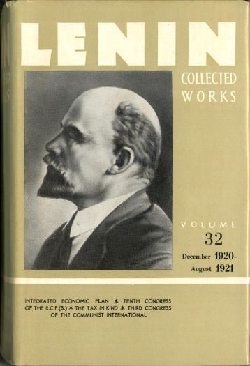 Lenin CW-Vol. 32-TC.pdf - From Marx to Mao