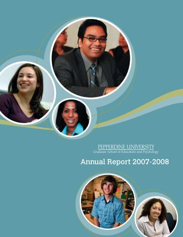 Annual Report 2007-2008 - Graduate School of Education and ...