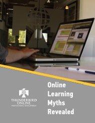 Online Learning Myths Revealed - Thunderbird Online Blog