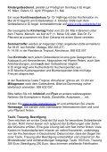 Infobrief 03.2009 - Deutschsprachiges Evangelisches Pfarramt an ... - Seite 6