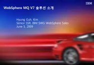 WebSphere MQ V7 솔루션 소개 - IBM