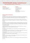 Hausmeister« Schnittmuster (PDF) - Handmade Kultur - Page 2