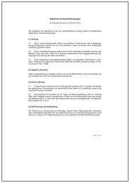 Allgemeine Geschäftsbedingungen (AGB) - Cjc.dk