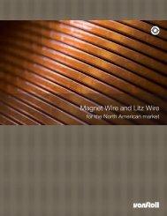 Magnet Wire and Litz Wire - Von Roll