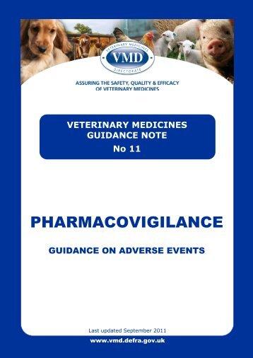 VMGN 11 - Veterinary Medicines Directorate - Defra