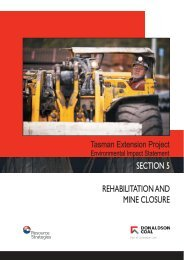 Rehabilitation and Mine Closure