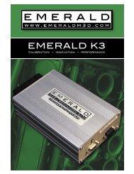 Emerald K3 brochure - Turbo Minis