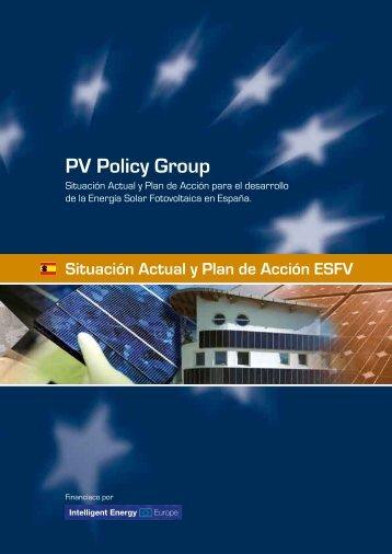 i. situación actual - PV Policy Group