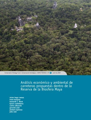 Análisis económico y ambiental de carreteras propuestas dentro de ...