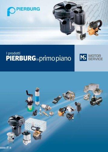 I prodotti PIERBURG in primo piano