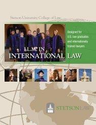 Brochure (PDF) - Stetson University