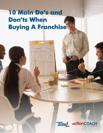10 Main Do's and Don'ts When Buying A Franchise - ActionCOACH