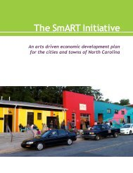 The SmART Initiative - North Carolina Arts Council