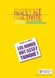 Rapport_activite_APR_2007.pdf (1,33 MB) - Association Prévention ...