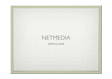 NETMEDIA - Jonas Heide Smith