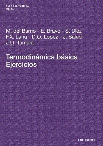 Termodinámica básica Ejercicios - e-BUC