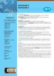 betagum p/v rev 01/10 - Italiana Membrane