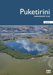 Puketirini management plan - Waikato District Council