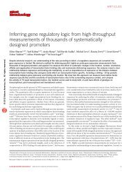 Inferring gene regulatory logic from high-throughput measurements ...