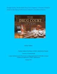 Orange County, Florida Adult Drug Court Program - University of ...