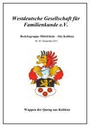 Auderath - Urkunden aus dem Pfarrarchiv Alflen - WGfF
