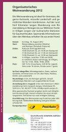 Weinwanderung Jurapark Aargau - PostBus - Seite 3
