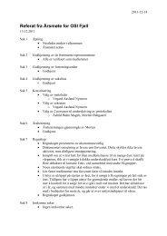 Referat fra Årsmøte for OSI Fjell