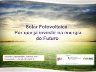 Solar Fotovoltaica: Por que já investir na energia ... - América do Sol