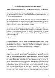 Referat Prof. Dr. Peter Bareis 6. Berliner Steuergespräch (PDF-Format)