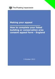 How to complete your Listed Building ... - Planning Portal