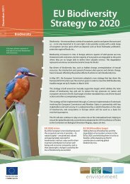 EU Biodiversity Strategy to 2020 - European Commission - Europa