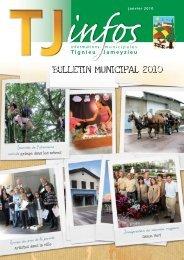 Bulletin de janvier 2010 - site mairie Tignieu-Jameyzieu