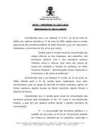 Voto divergente do conselheiro Reinaldo Moura - Tribunal de ...