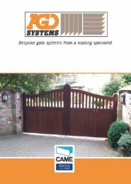Wooden Swing Gates - AGD Systems