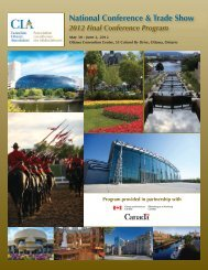 National Conference & Trade Show - Canadian Library Association