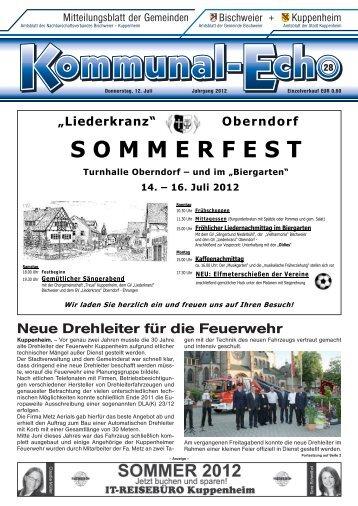 16. Juli 2012 - Stadt Kuppenheim: Home