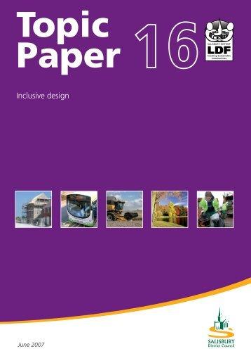 Topic 16 Inclusive Design.pdf 586kb - Wiltshire Council