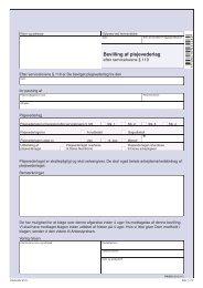 PN 252 - Bevilling af plejevederlag efter servicelovens § 119 - klxml.dk